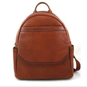 FRYE Beautiful Leather Backpack in Cognac!